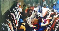 逛街卻伸怪手扒包 6旬阿桑多次偷竊遭逮