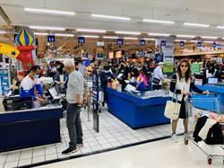 末日掃貨潮賣場破紀錄  頂級超市也衝高