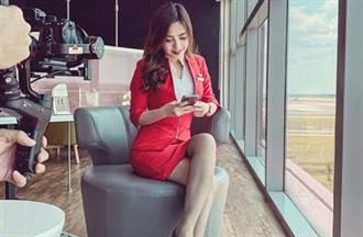 亞航最美空姐Mabel Goo雪地脫衣「小背心側乳外洩」