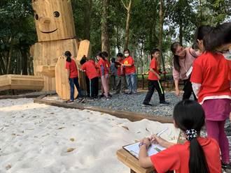 避免水道博物館藝術沙坑被破壞 山上學童提好點子