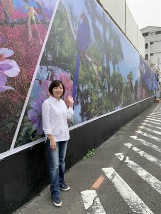陳淑華助台電灰牆穿新衣 美景成拍照熱點