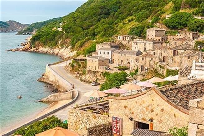 芹壁村的村落美景。圖:五福提供