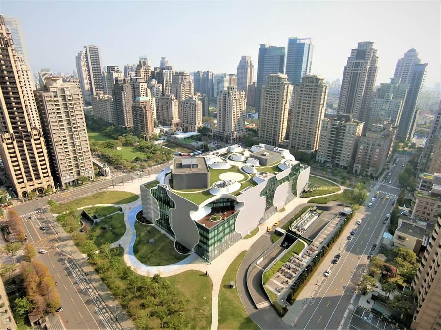 七期是台中市政治、經濟與藝文的黃金地段。(盧金足攝)