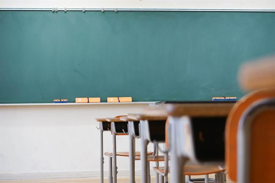 北部某國中今預防性停課1天,因1名學生2日從福建返台,19日身體不適。此為示意圖。(達志影像)