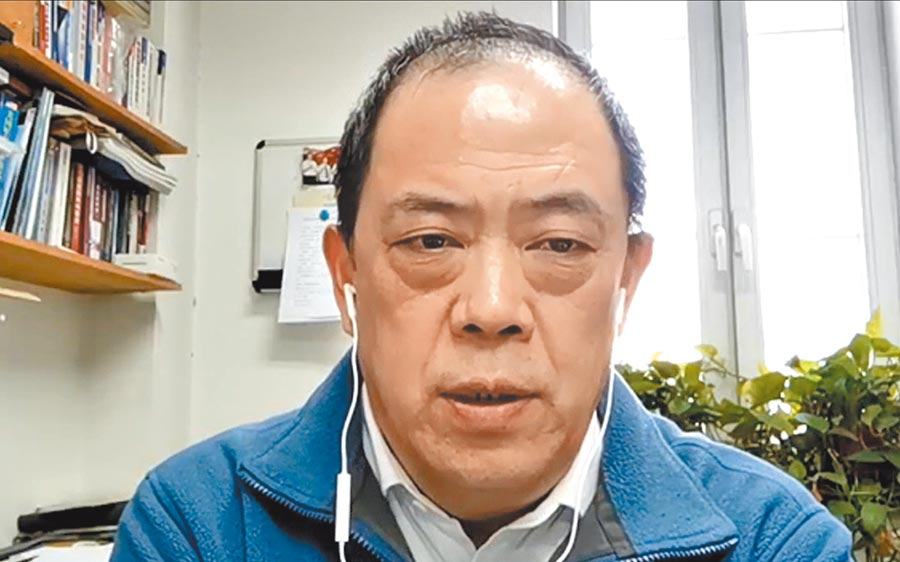 中國國際問題研究院美國研究所所長滕建群19日接受本報提問。(記者陳君碩攝)