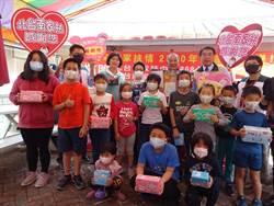康娜香老董以父之名行善 送家扶兒童3萬多片口罩