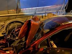 花蓮死亡車禍 曳引車休旅車衝撞女駕駛傷重不治