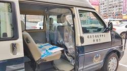 中市警車改裝為防疫專車