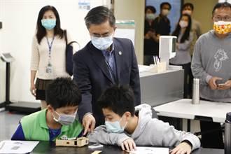 防疫結合智慧科技  中科教學童DIY自製智慧額溫槍