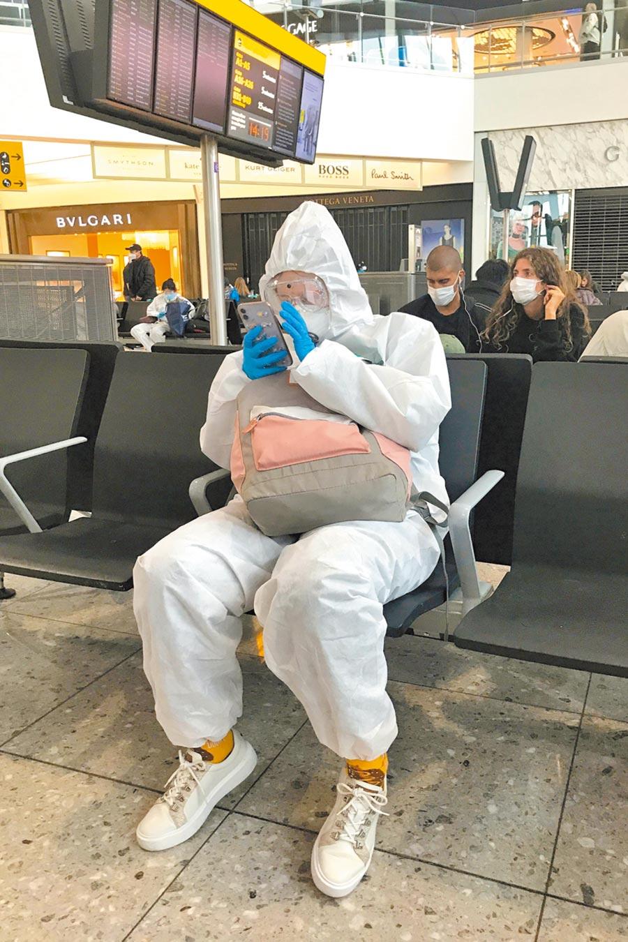 英國確診破3000例,疫情較嚴重的倫敦關閉部分地鐵站。(路透)