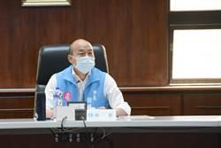 江啟臣號召防疫座談 韓國瑜不參加但予以肯定