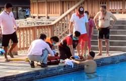 台東溫泉度假村男童溺水 送醫急救中