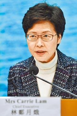 林鄭月娥:港府推五措施抗疫
