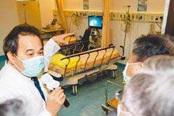確診暴增 即起開放專責病房病人分流