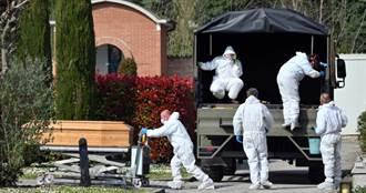 義大利30分埋一次屍體! 護士曝慘況「人死太多」:搭帳篷充當停屍間
