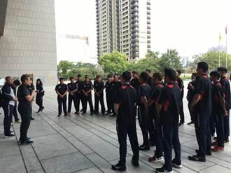 台中社甲隊明征戰春季聯賽 運動局長加油打氣