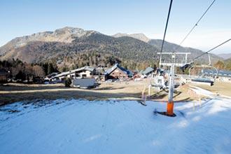 法國暖冬無雪可滑