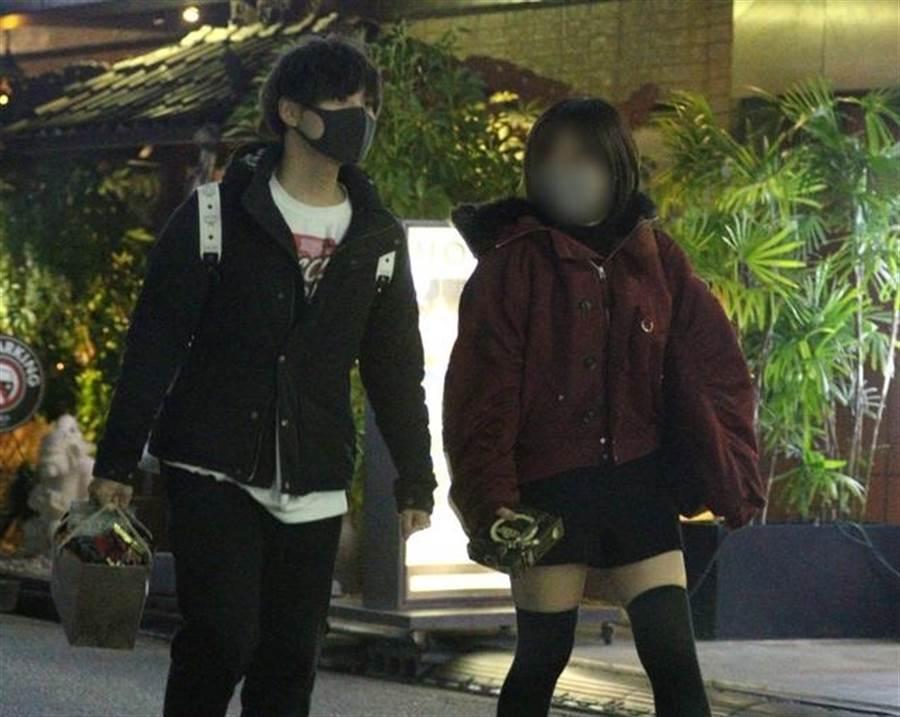岡本信彥爆瞞婚外遇,與短髮小隻馬上酒店開房。(取自日網)