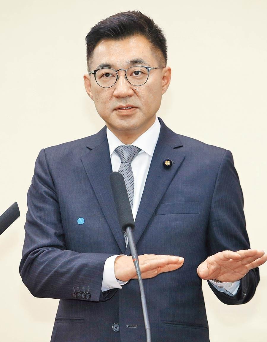國民黨補選新任黨主席江啟臣。 (本報資料照片)