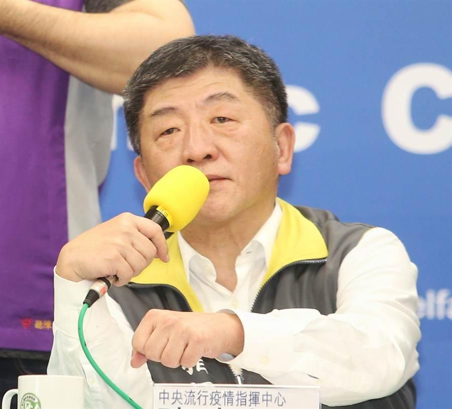 台情資早防疫快,陳時中表示,去年就示警WHO。(資料照,王英豪攝)