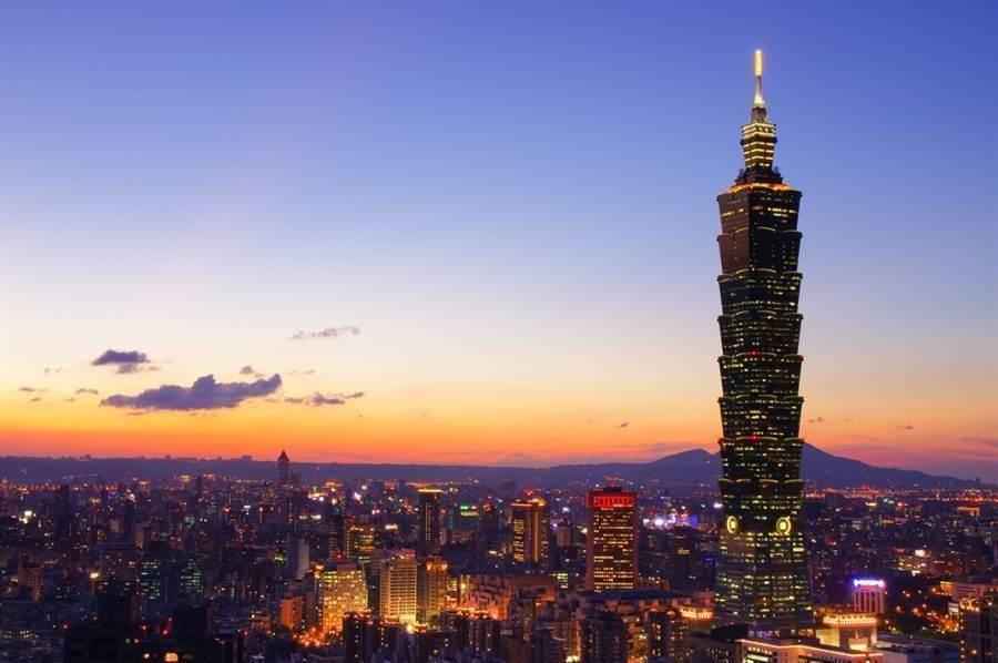 圖為台北101。(取自shutterstock)