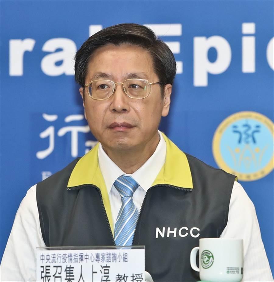 疫情指揮中心專家諮詢小組召集人張上淳。(資料照片,劉宗龍攝)
