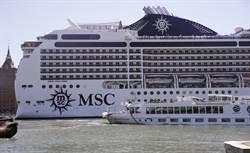 超過250遊客病了 澳拒華麗號郵輪停靠