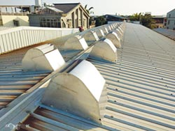 風碩自然通風設備 快速降溫又省電