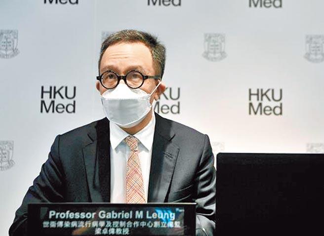 香港大學醫學院院長、公衛學院講座教授梁卓偉。(取自新浪微博@香港商報網)