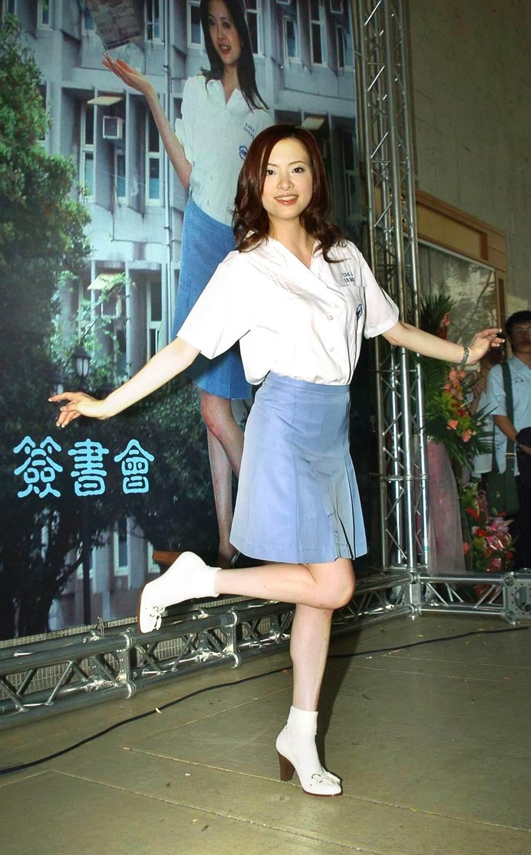 2006年劉真回母校師大附中。(圖/中時資料照片)