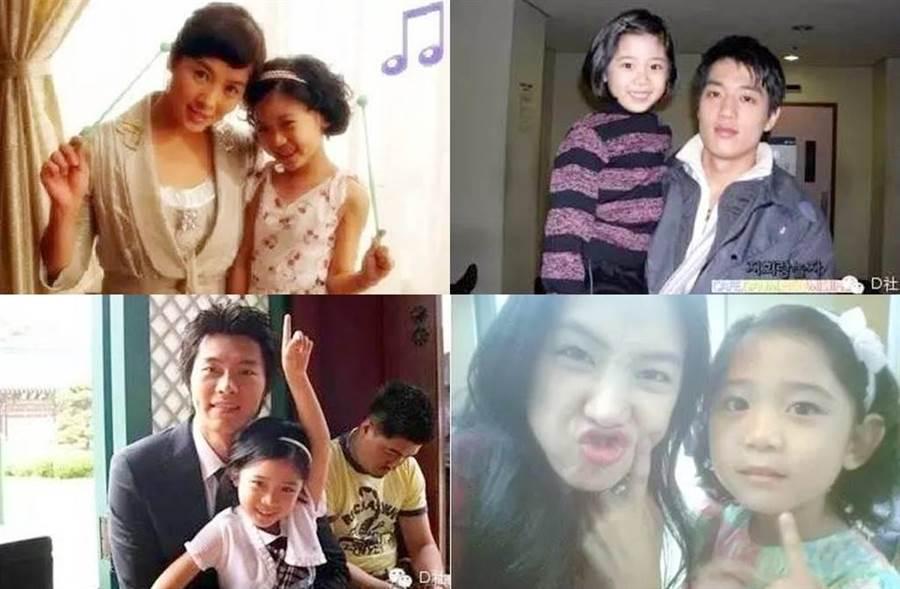 經典韓劇《我叫金三順》當中飾演玄彬姪女的小童星美珠,15年過去她轉大人變這樣。(圖/翻攝自微博)