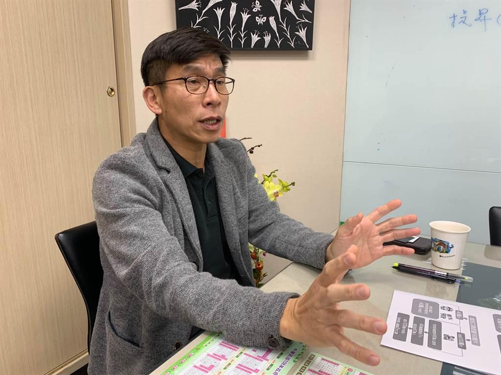民進黨立法院黨團書記長鍾佳濱。(報系資料照)