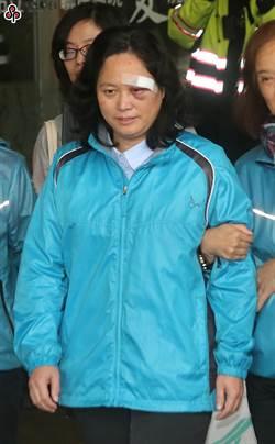 莽男闖北市府打傷賴香伶 二審輕判拘役58天