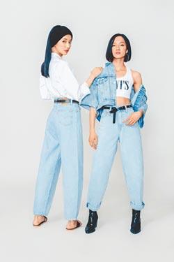 LEVI'S新女褲 高腰繭型襯托腰身