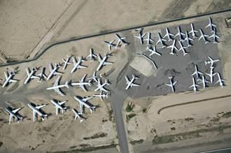 全球數千架客機停飛 沙漠恐塞爆!