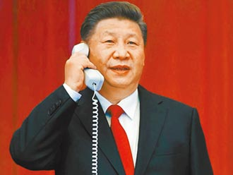 習近平為抗疫 與法、埃、英領袖通電話