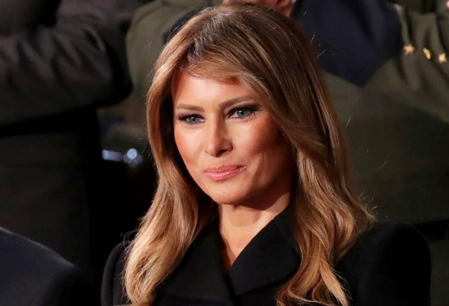 美國總統川普首度證實,第一夫人梅蘭妮亞(Melania Trump)已接受新冠病毒檢測,檢測結果呈現陰性。(資料照/路透社)