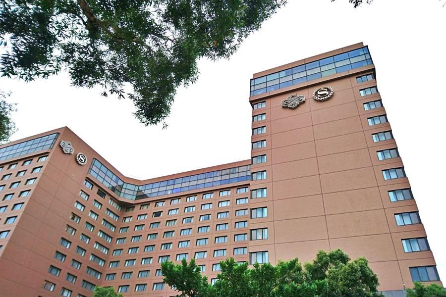 寒舍餐旅集團旗下台北喜來登大飯店。(記者林資傑攝)