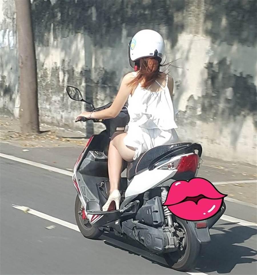 新北市一名居家檢疫女子騎車外出買晚餐被員警發現,竟稱「沒想到叫外送」,恐被裁罰至少20萬元。(非當事人示意圖/取自加藤軍路邊隨手拍)