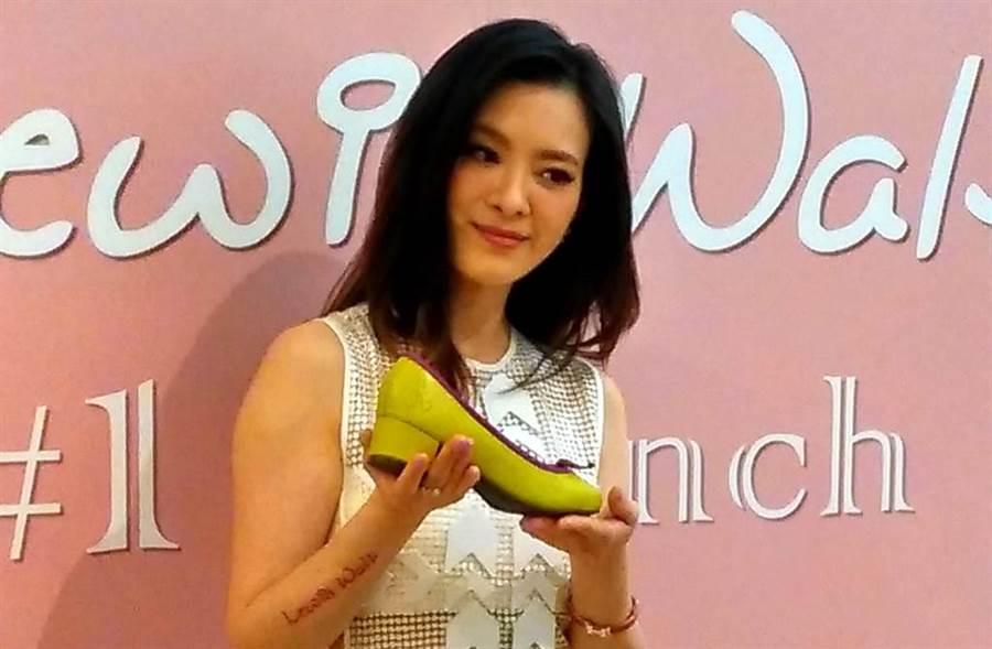 劉真曾被白龍王提醒勿再買鞋。(圖/中時資料照)