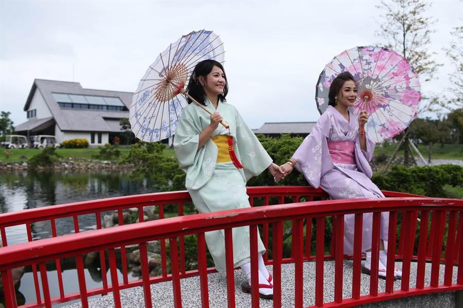 圖3. 「Hello!斑比」住房專案,旅客可以體驗經典日式浴衣。圖:綠舞提供