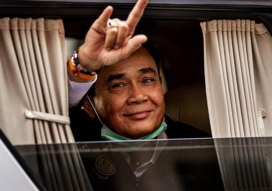 因應新冠肺炎疫情升溫,泰國總理帕拉育24日宣布,泰國自26日起進入緊急狀態一個月。(資料照/美聯社)