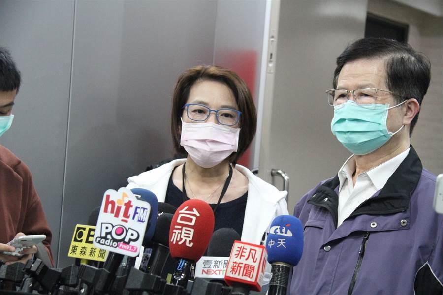 北市副市長黃珊珊說,防護衣不是徵用物資,是買得到的。(中時資料照 譚宇哲攝)