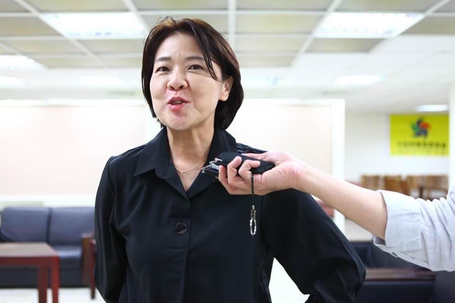 台北市副市長黃珊珊。(圖/張立勳攝)