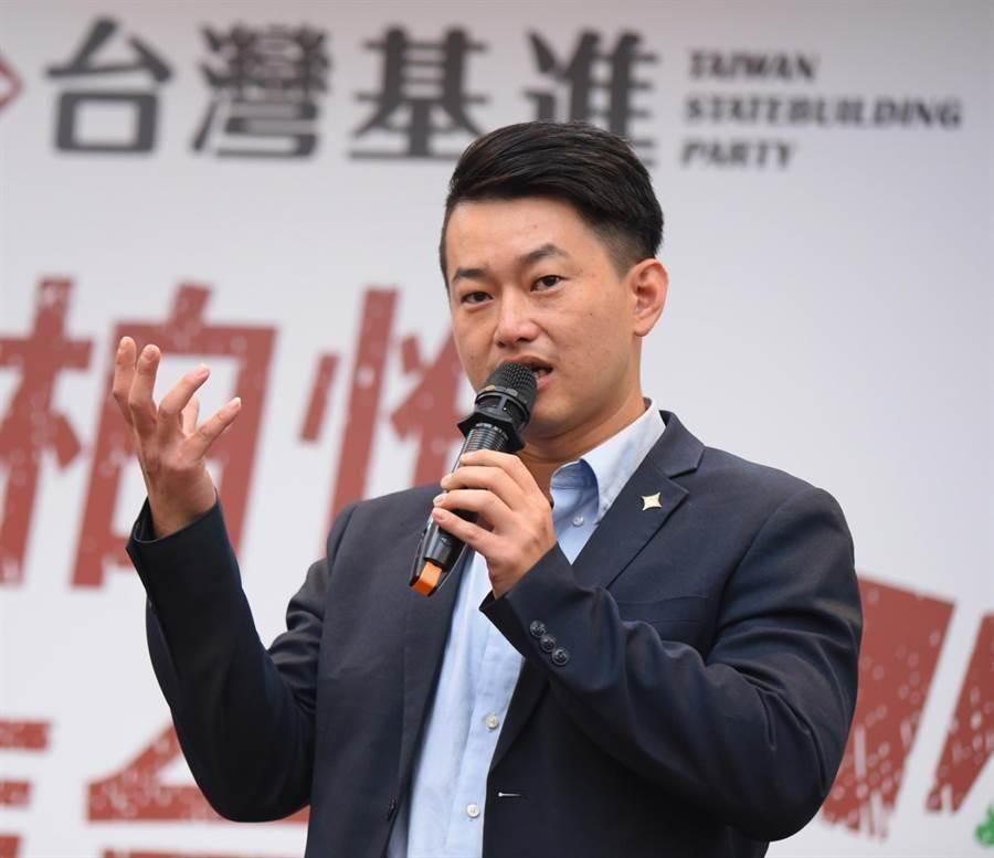 台灣基進立委陳柏惟。 (資料照片)