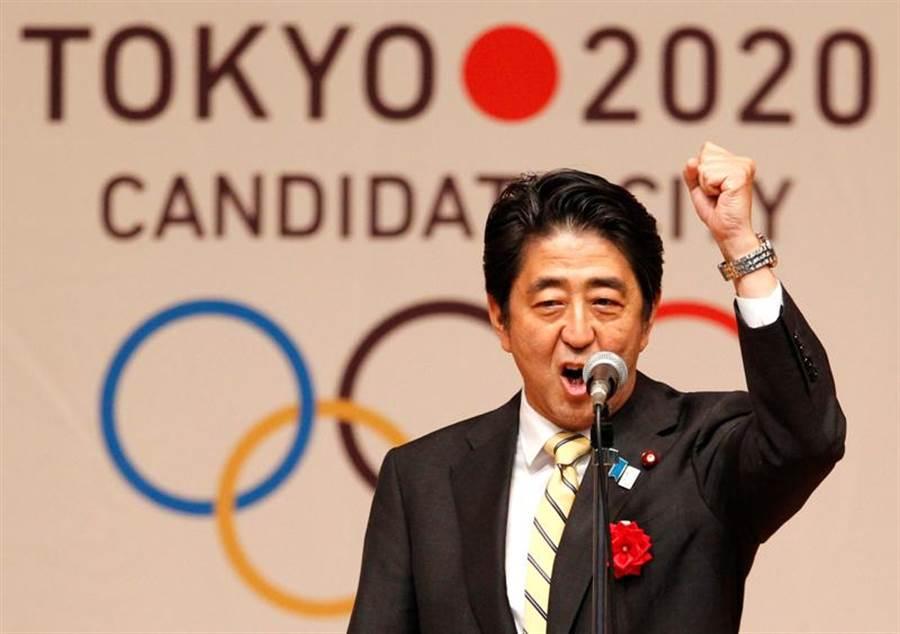 日本首相安倍提議東奧延期一年舉辦,但仍應視國際奧會組委會決定。(圖/路透)