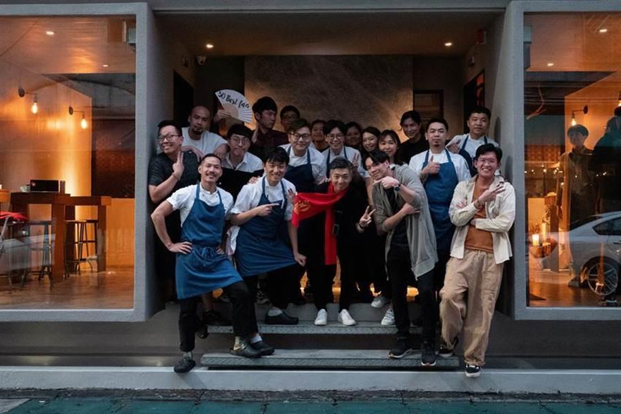 (亞洲50最佳餐廳(Asia's 50 Best Restrants)今日放榜,台北MUME餐廳今年拿下第18名,為榜單內「台灣隊」的最佳成績。圖/MUME)