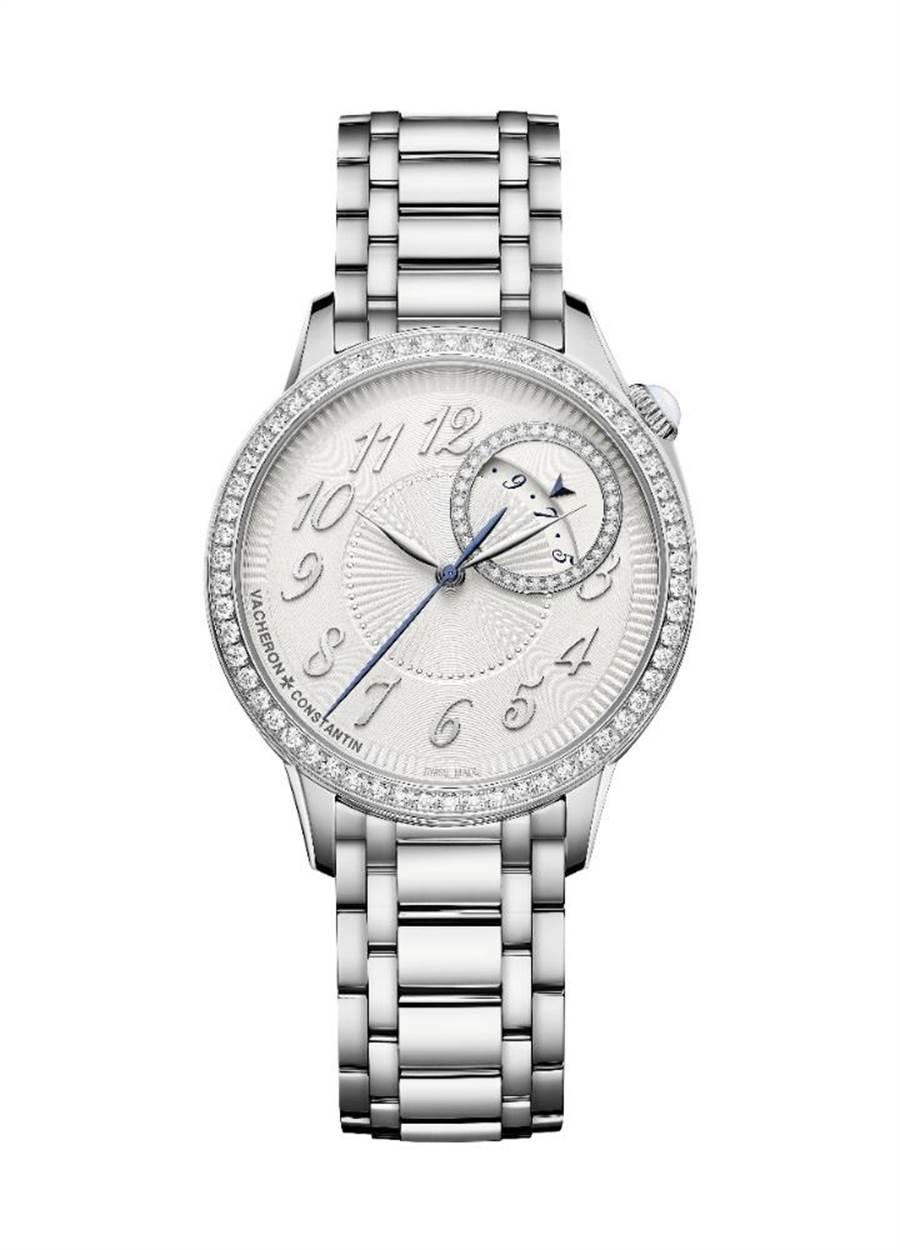 江詩丹頓新上市Egeria系列自動上鍊鑽表,67萬5000元。(Vacheron Constantin提供)