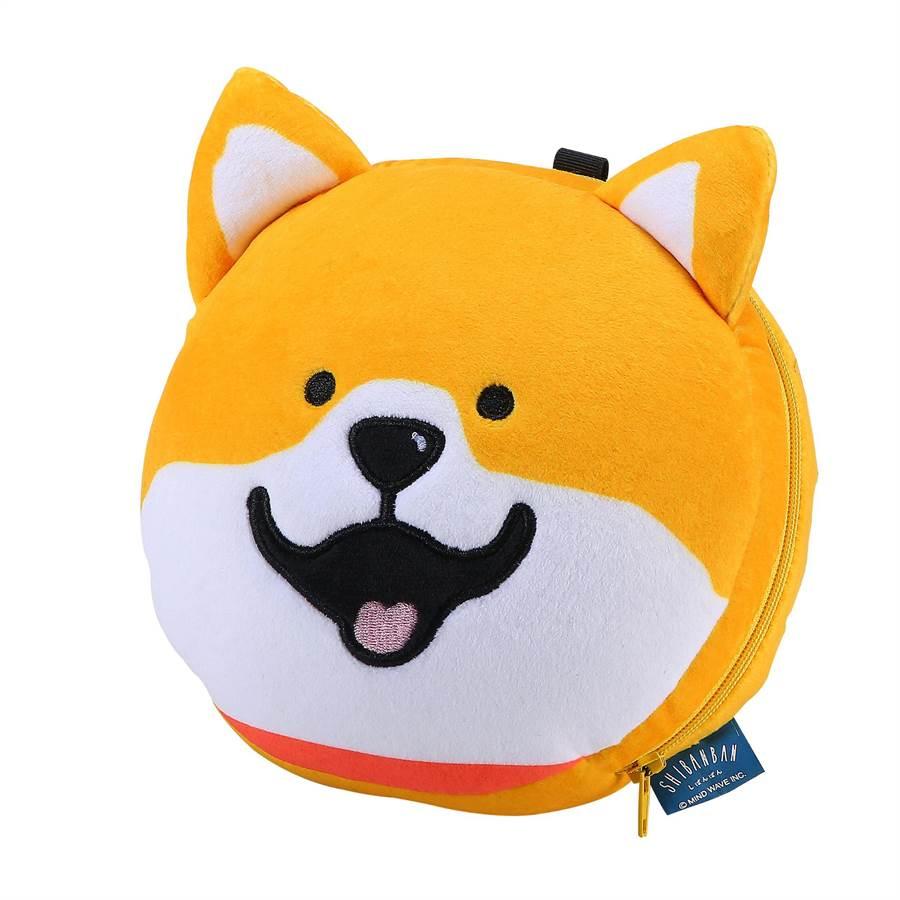 SHIBANBAN造型眼罩枕。(饗賓餐旅提供)