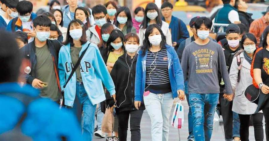 目前日本國內也出現缺乏口罩的情況。(示意圖/報系資料照片)